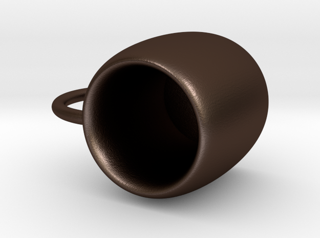 Mug in Matte Bronze Steel: Small
