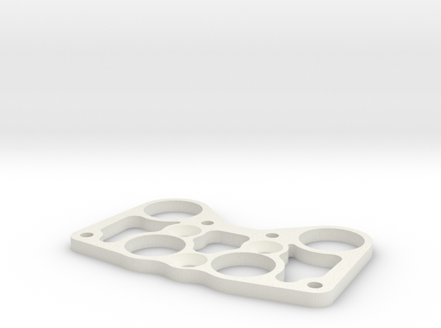 Chimera Mount plate in White Natural Versatile Plastic