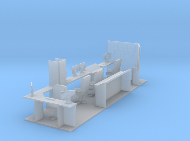 187th Interior for hydraulic Fracturing data van b in Smooth Fine Detail Plastic