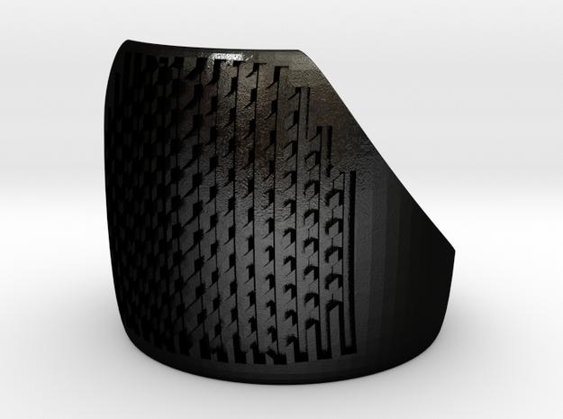 FingerFile  in Matte Black Steel