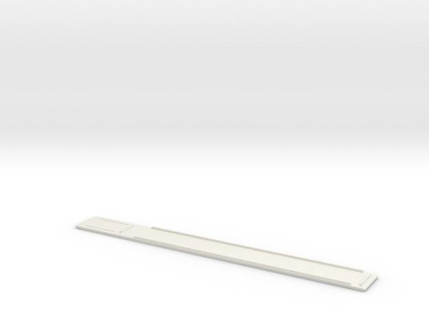 ROTJ Flamethrower Cover in White Natural Versatile Plastic