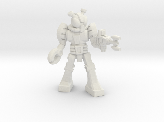 Waruder Kabutron Trooper, 35mm in White Strong & Flexible