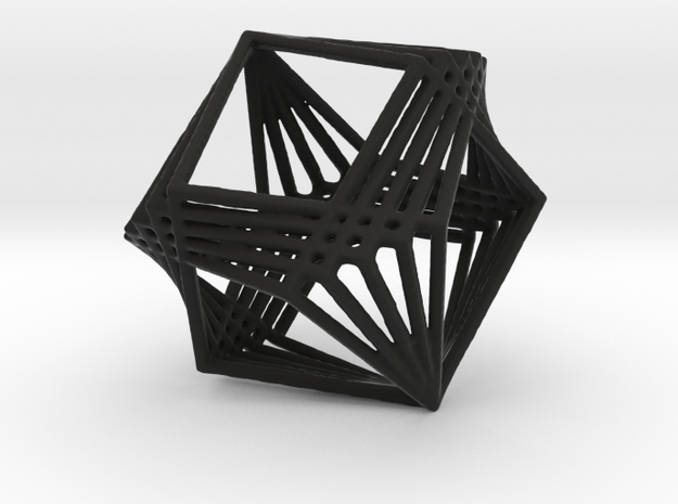 Polyfold Square in Black Strong & Flexible