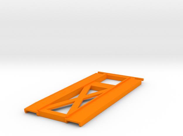 Car Hauler Ramps in Orange Strong & Flexible Polished