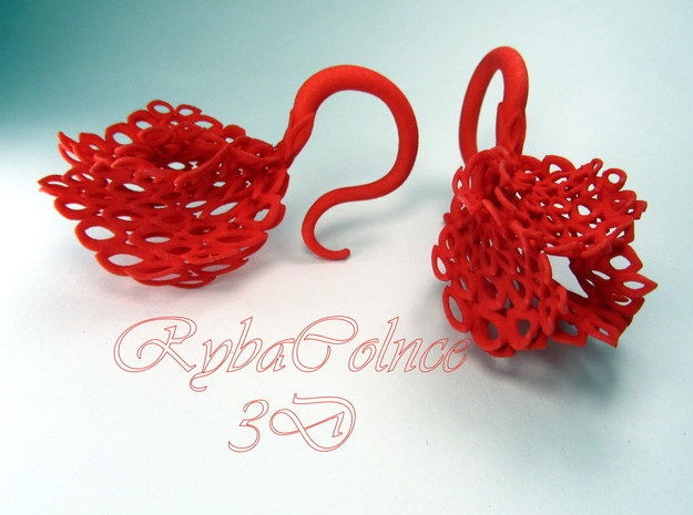 Plugs / gauges/ The Squirting cucumber/ 6 g (4 mm) in Red Processed Versatile Plastic
