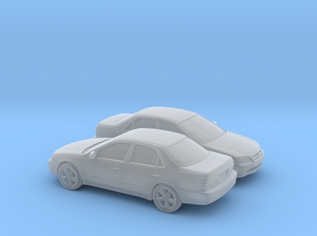 1/148 2X 1997-02 Honda Accord Sedan in Smooth Fine Detail Plastic