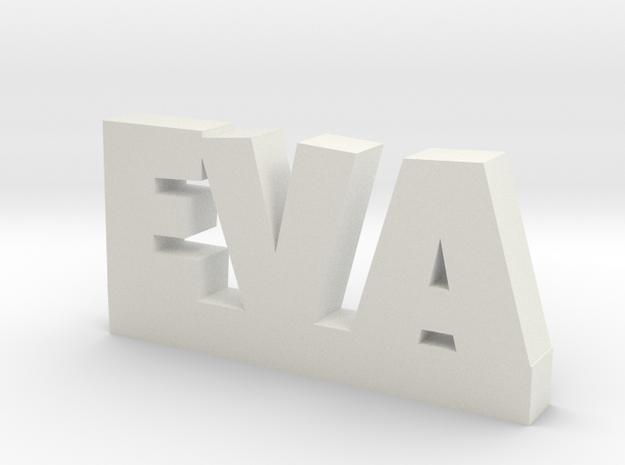 EVA Lucky in White Natural Versatile Plastic
