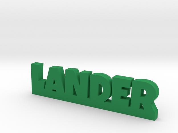 LANDER Lucky in Green Processed Versatile Plastic