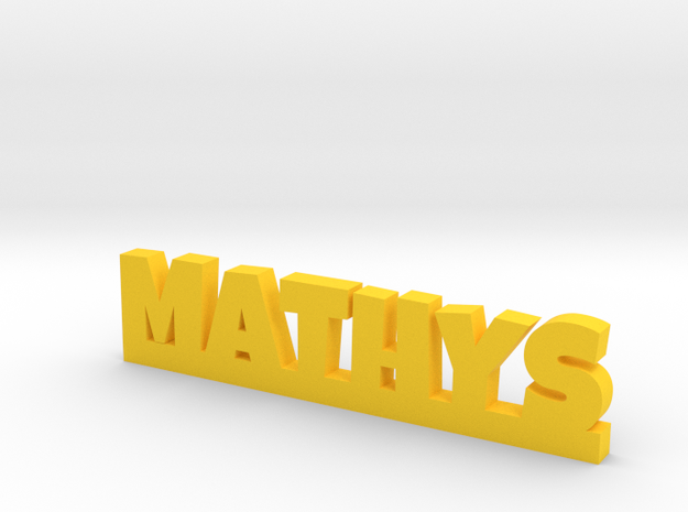 MATHYS Lucky in Yellow Processed Versatile Plastic