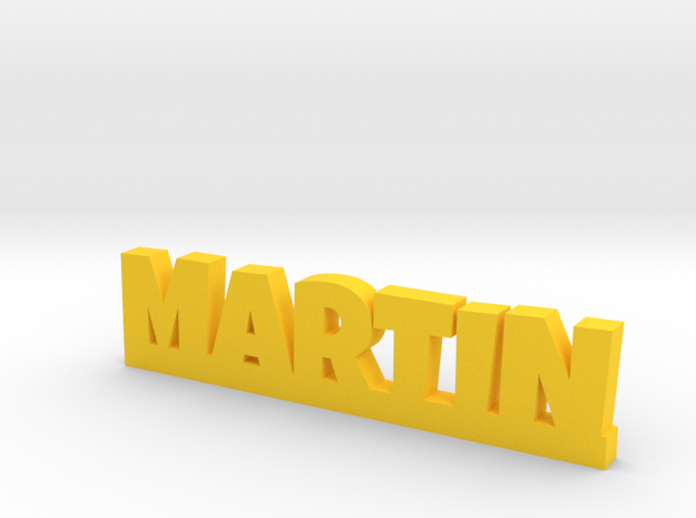 MARTIN Lucky in Yellow Processed Versatile Plastic