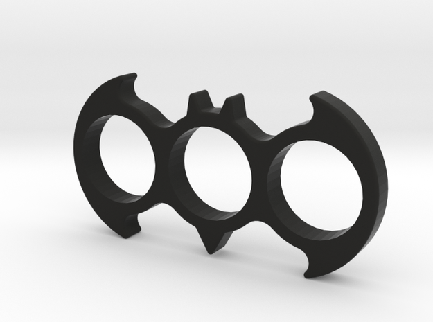 Batman Fidget Spinner in Black Natural Versatile Plastic