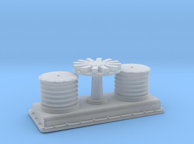1/96 DKM Winch Forward in Smooth Fine Detail Plastic