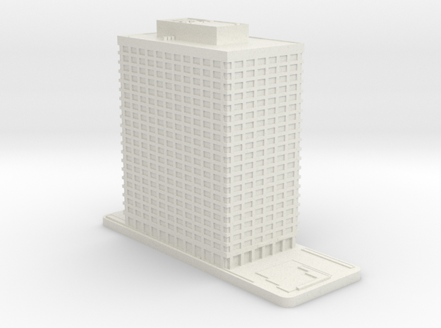 1700 Market Street - United Plaza (1:2000) in White Natural Versatile Plastic