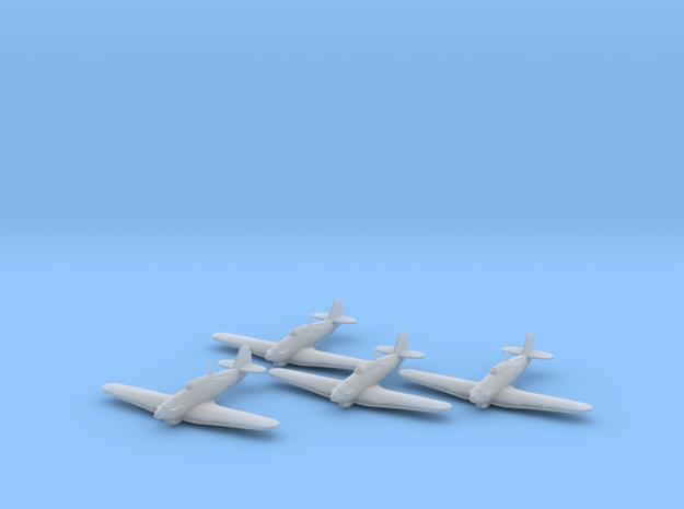 Hawker Hurricane Mk.IIb Trop 1:200 x4 FUD in Frosted Ultra Detail
