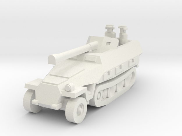 Sdkfz 251 Pak40 in White Strong & Flexible