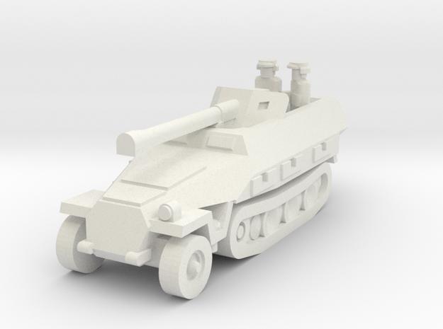Sdkfz 251 Pak40 in White Natural Versatile Plastic
