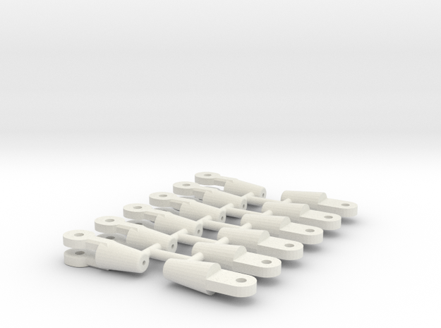 DEMAG TC CC rope junctions 1/50 in White Natural Versatile Plastic