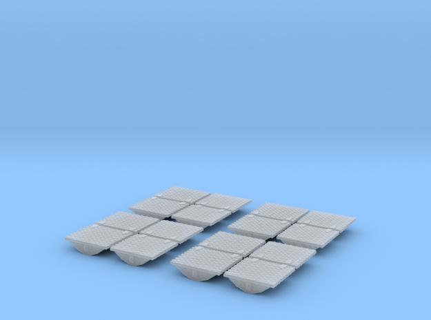 1/50 Kotflügelkistenset Träne  in Smooth Fine Detail Plastic