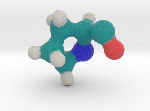 Amino Acid: Proline in Full Color Sandstone