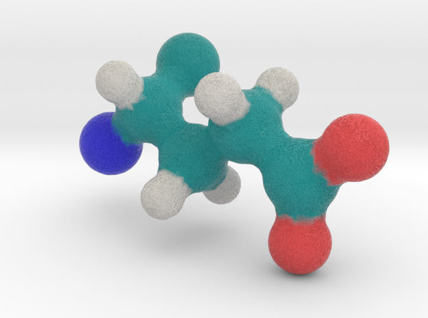 Amino Acid: Glutamate in Full Color Sandstone