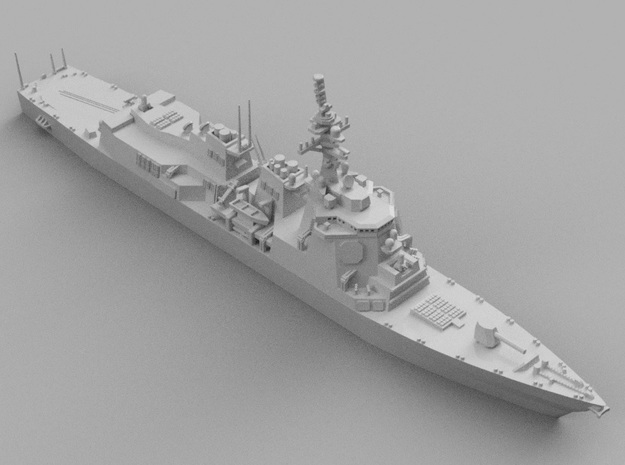 1/1800 JS Atago-class destroyer in Smooth Fine Detail Plastic
