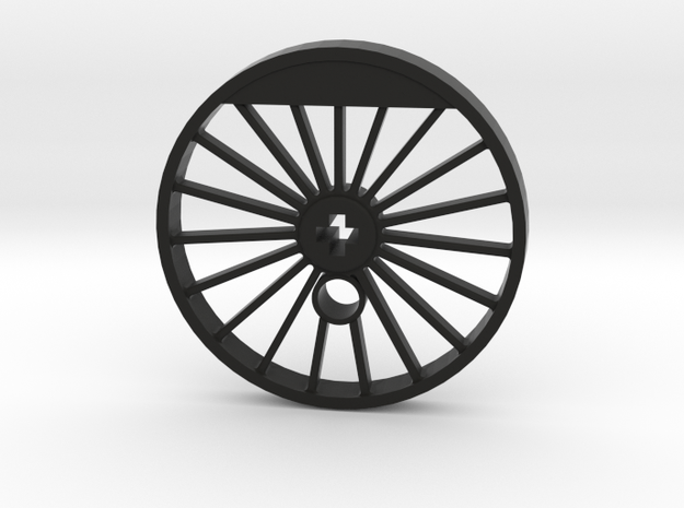 XXL Blind Driver - 19 Spokes, Small Counterweight in Black Natural Versatile Plastic