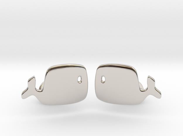 Whale Cufflinks