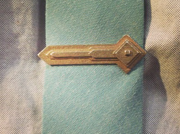 Lafayette Tie Bar 3d printed