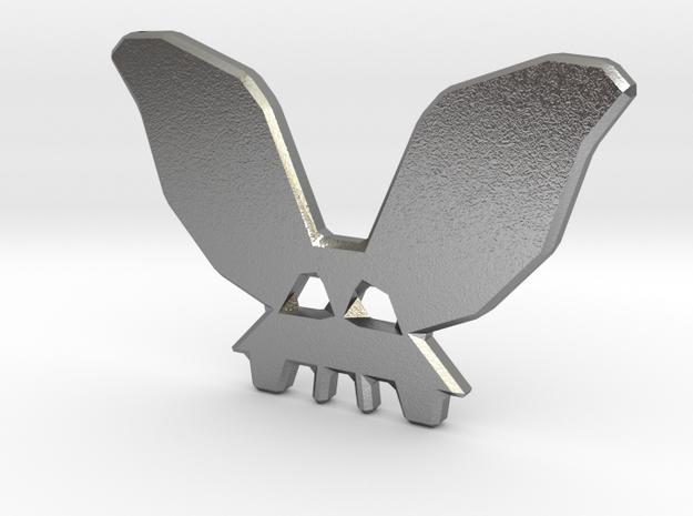 BunnySkull in Natural Silver