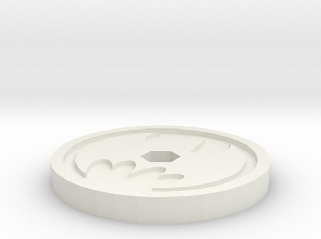 Imaginext - Batmobile Disc Projectile in White Natural Versatile Plastic