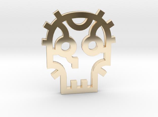 Skull / Cráneo / Calavera in 14K Gold