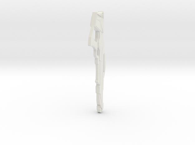 Phaser Rifle90 in White Natural Versatile Plastic