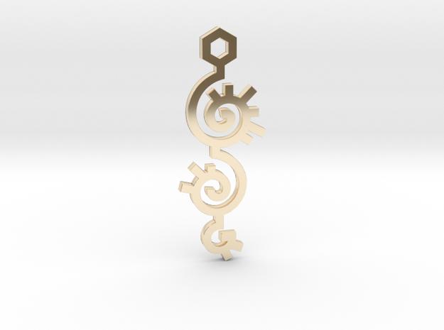 Spiral / Espiral in 14K Gold