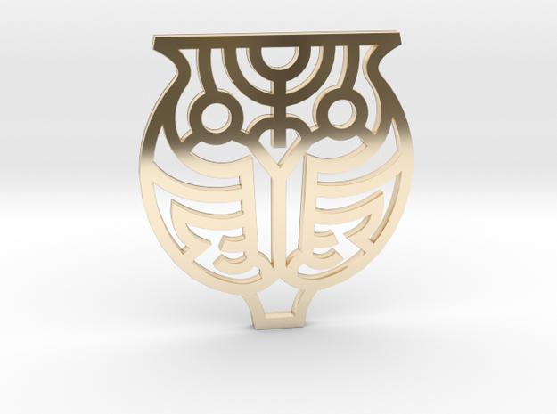 Owl / Búho in 14K Gold