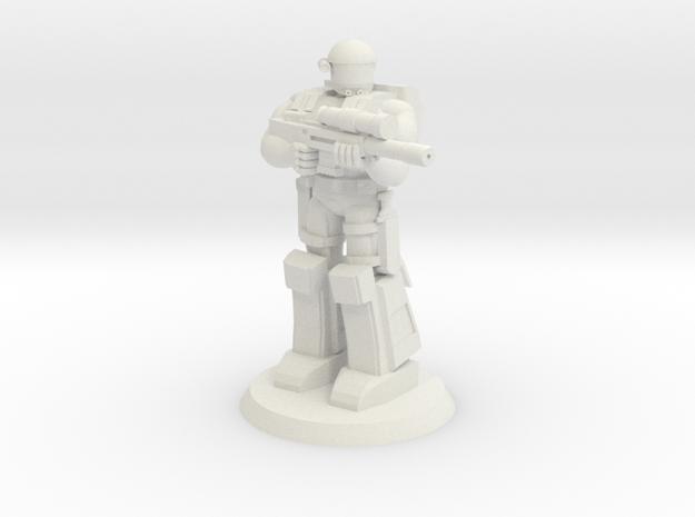 HAHO Sniper 1 in White Natural Versatile Plastic