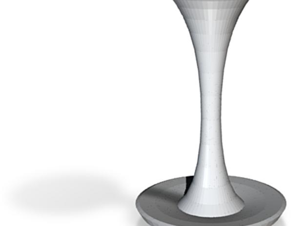 fu manchu vase 3d printed