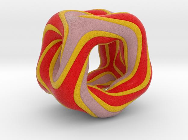 orange pentatonic 1 in Full Color Sandstone
