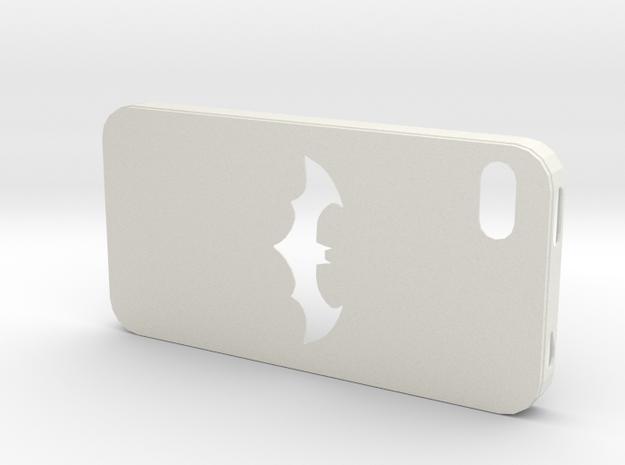 IPhone 4S Batman Case in White Natural Versatile Plastic