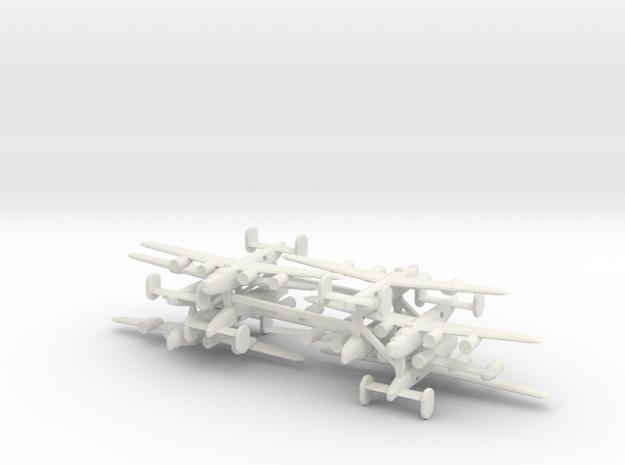 1/600 Consolidated B24 Liberator x8 in White Natural Versatile Plastic