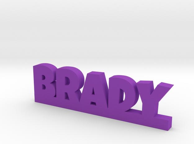 BRADY Lucky in Purple Processed Versatile Plastic