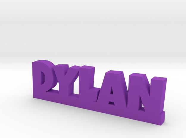 DYLAN Lucky in Purple Processed Versatile Plastic