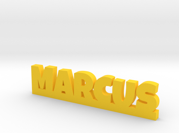 MARCUS Lucky in Yellow Processed Versatile Plastic