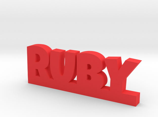 RUBY Lucky in Red Strong & Flexible Polished