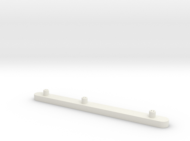 Ikea RAST 107103 Drawer Rail replacement part in White Natural Versatile Plastic