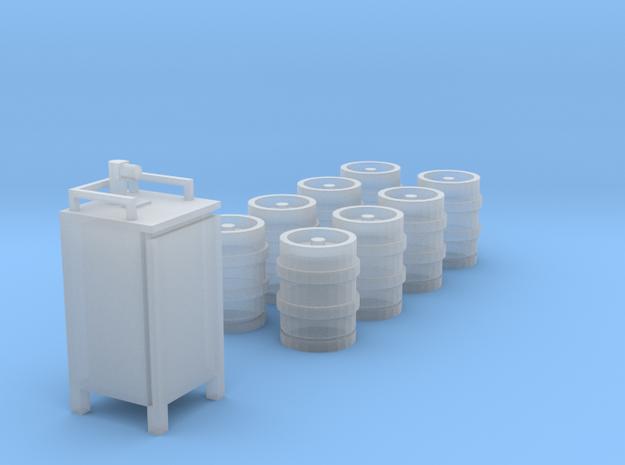 1/64 Kegs in Smooth Fine Detail Plastic