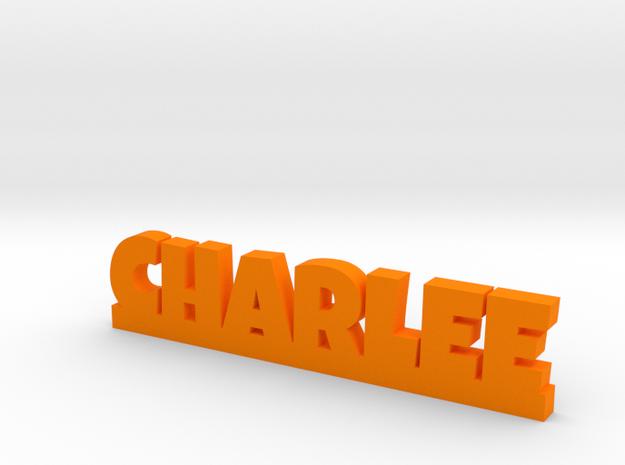 CHARLEE Lucky in Orange Processed Versatile Plastic