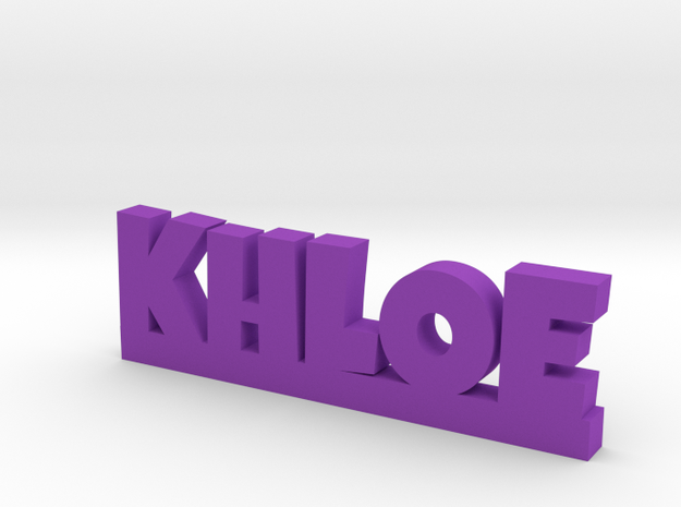 KHLOE Lucky in Purple Strong & Flexible Polished