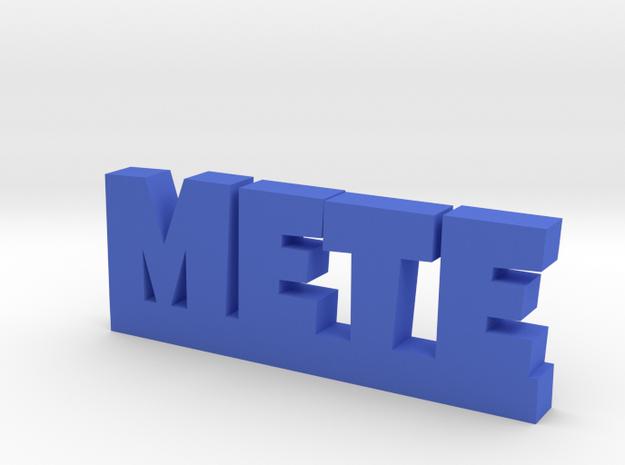 METE Lucky in Blue Processed Versatile Plastic