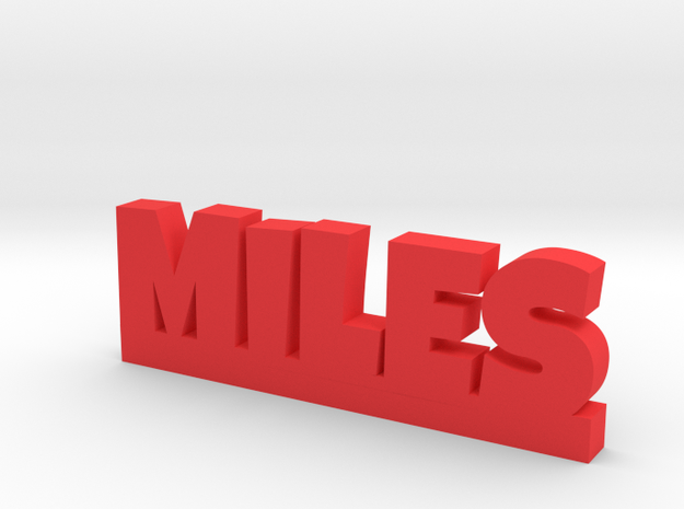 MILES Lucky in Red Processed Versatile Plastic