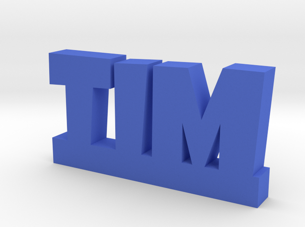 TIM Lucky in Blue Processed Versatile Plastic
